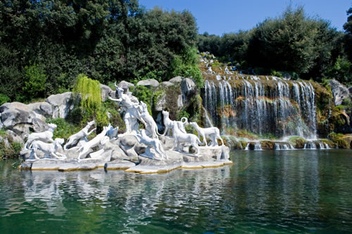 The Royal Palace of Caserta - Waterfalls