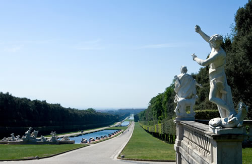 The Royal Palace of Caserta - Gardens